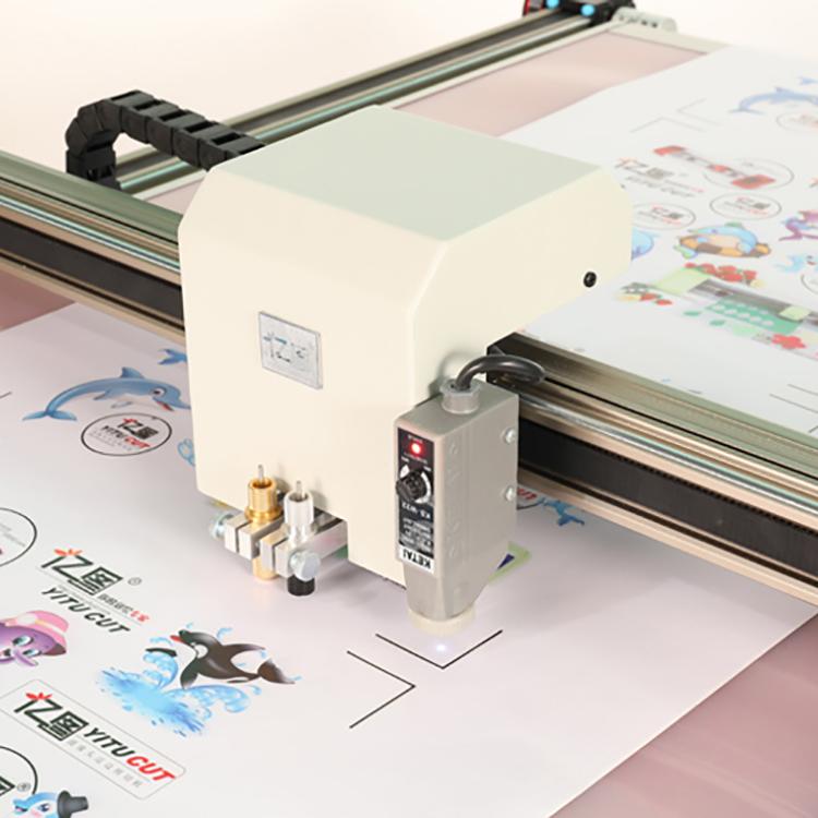 寧波電腦模切機_億圖機電_雙面膜_3M反光膜_連續進紙_億圖