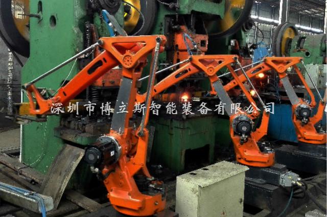 上下料四轴冲压机器人 锻压自动化