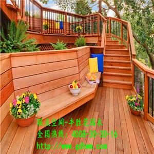 北欧进口定制芬兰木阳台木地板