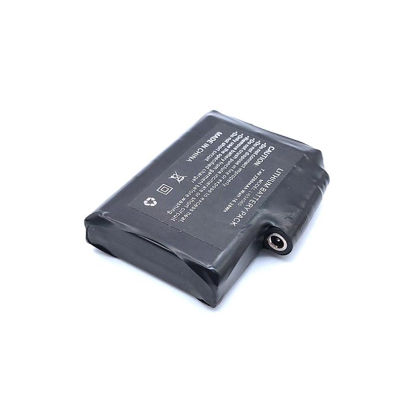 發熱服用PL654060-2200mAh-2S-黑色PVC膜