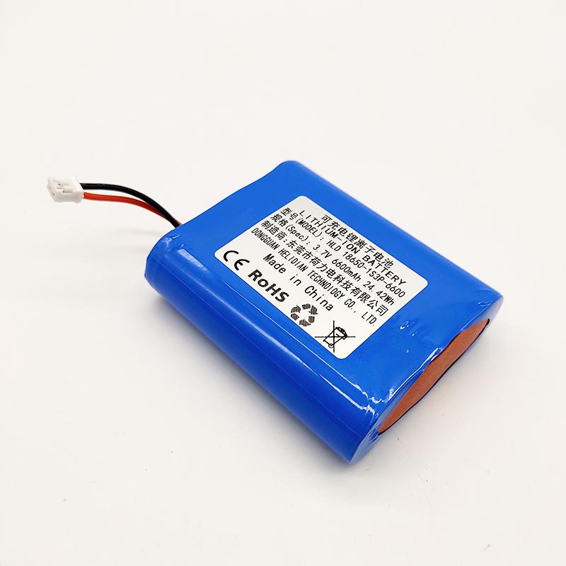 18650-1S3P-3.7V-6600MAH