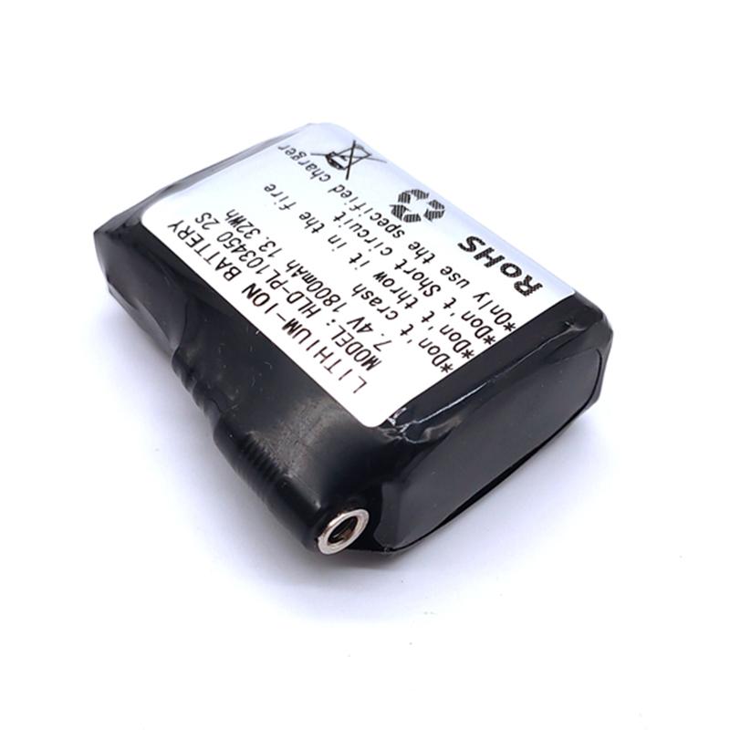 發熱服用PL103450-1800mAh-2S