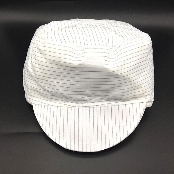 防静电条纹小工帽