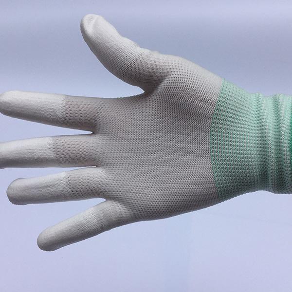 十三针PU尼龙涂指手套