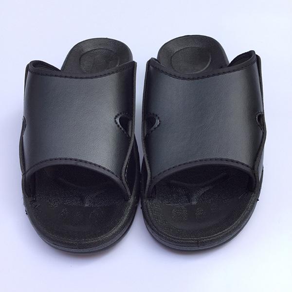 防静电PU皮革拖鞋