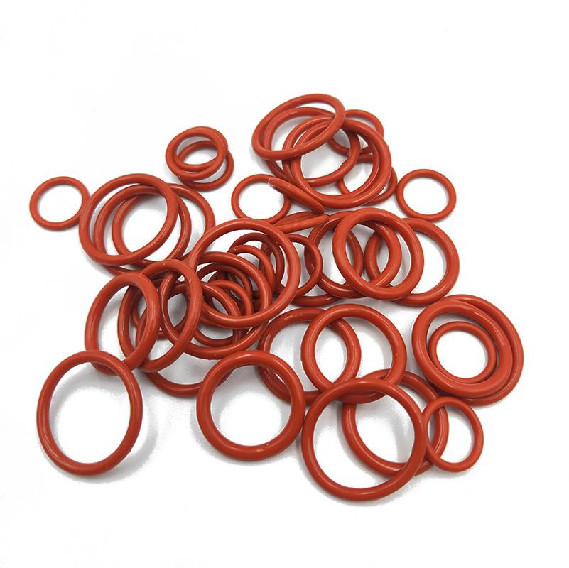 紅色o型硅膠密封圈
