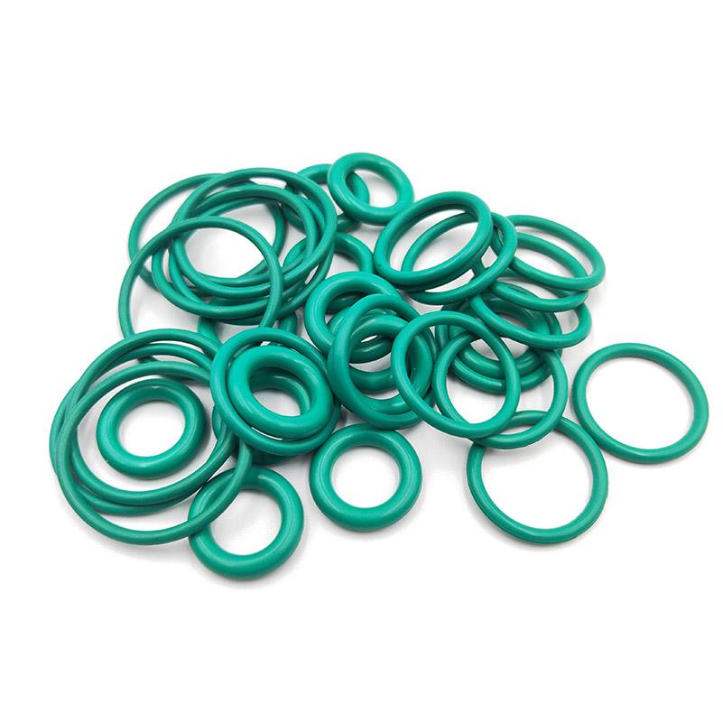 綠棕氟膠o型硅膠密封圈