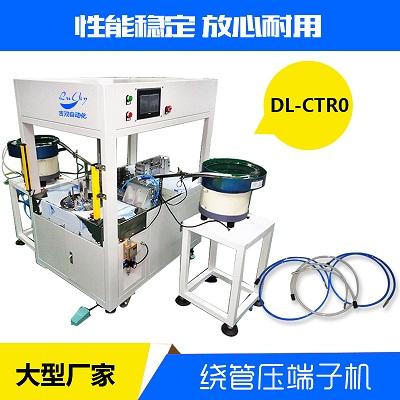 深圳吉双全自动压端绕扎生产线圆圈型DL-CTR0吉双自动化
