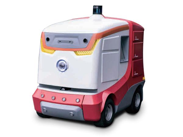 室外自主移动机器人LUNA