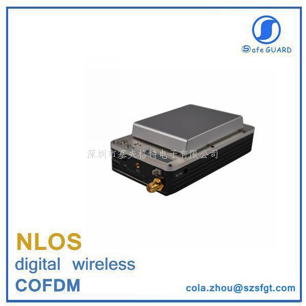 高清低延時COFDM無人機專用微型數字無線發射機
