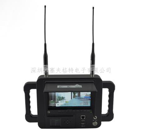 HD-1080P COFDM戶外軍規手持式高清圖像接收機