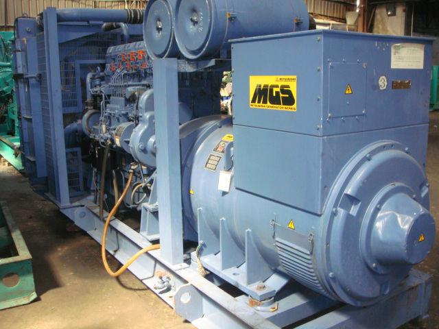 三菱柴油发电机组出售,低价实惠