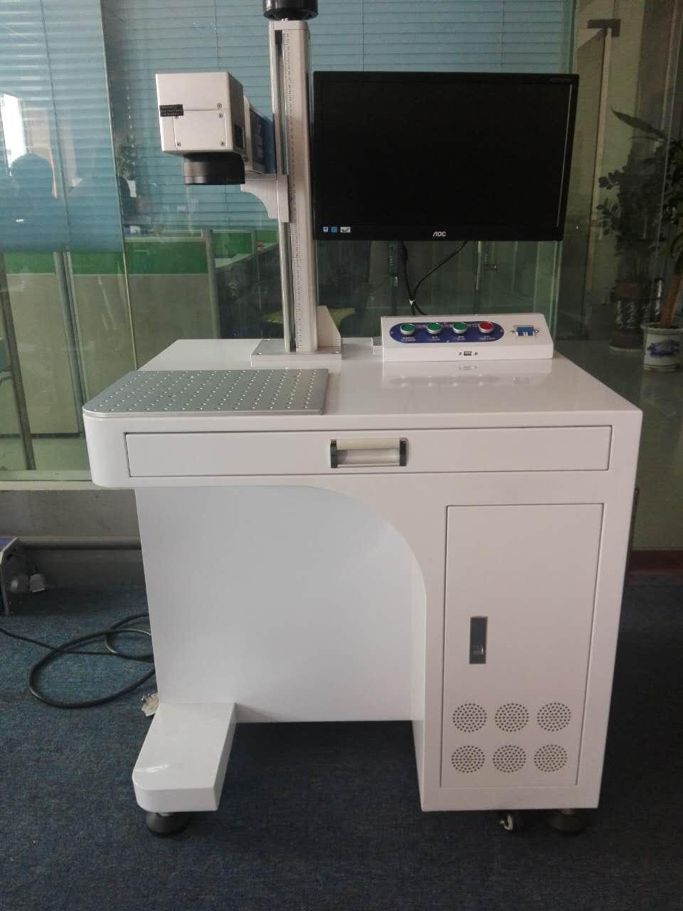東莞充電器激光打標機 二維碼激光打標機 電子元件激光打標機