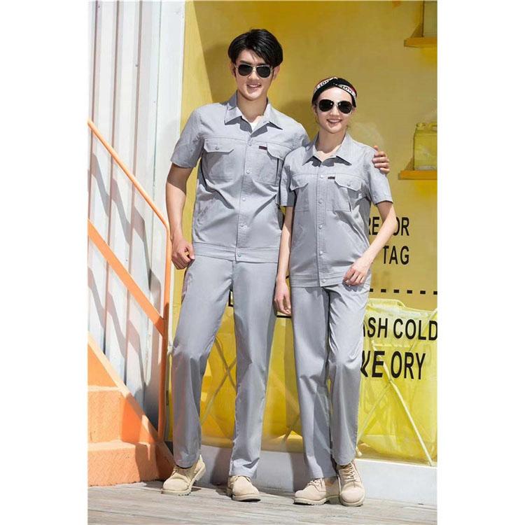 石龙夏季工作服_匠工服装_产品外观设计_批发小商品哪有