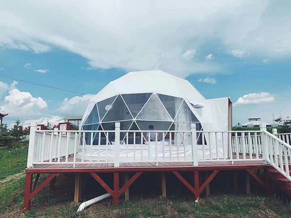 星空帳篷系列-河北張家口星空酒店帳篷