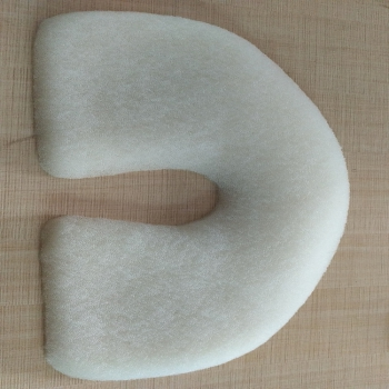 厂家直销可定制可水洗新生儿定型枕头防偏头0-1岁