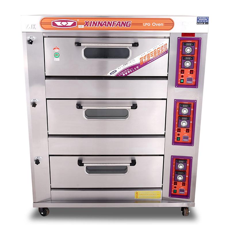 三層六盤液化氣烤箱