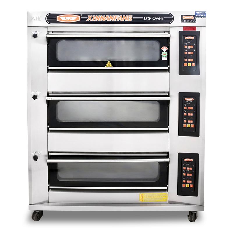 三層六盤電腦版烤箱