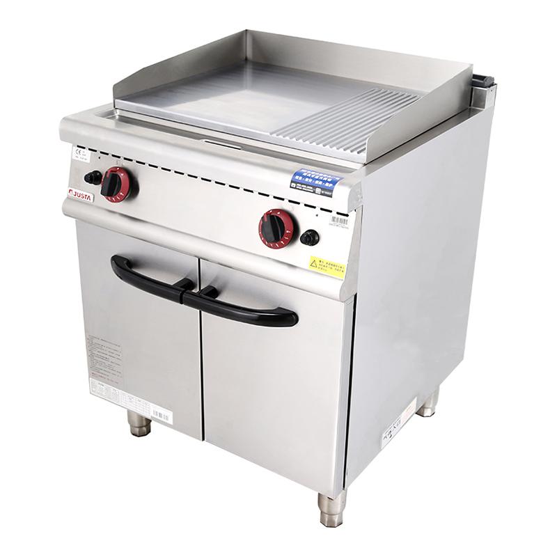 坑液化氣扒爐連柜座
