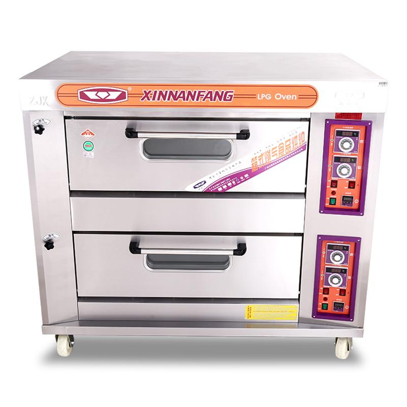 雙層四盤液化氣烤箱