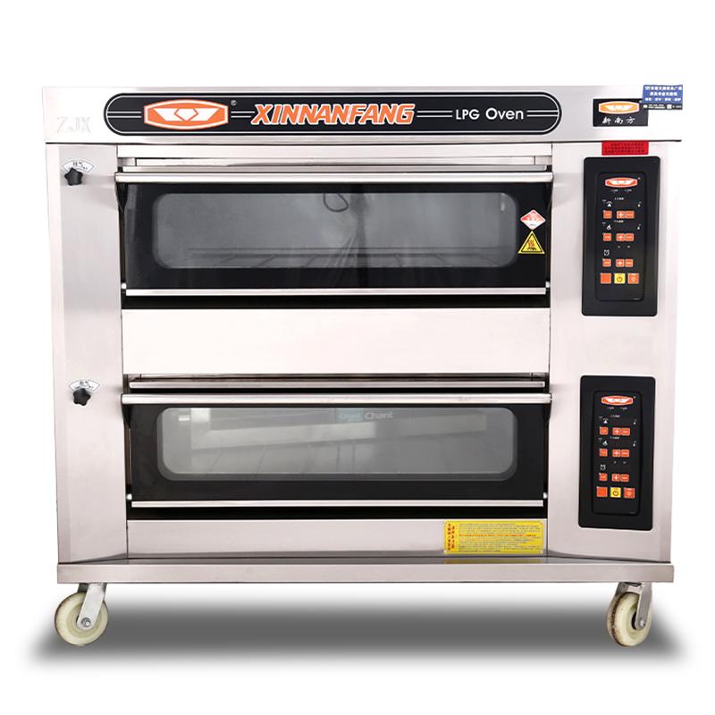 雙層四盤電腦版烤箱