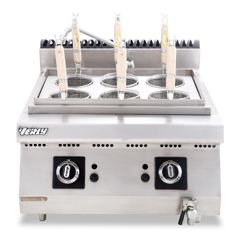 六頭液化氣煮面爐