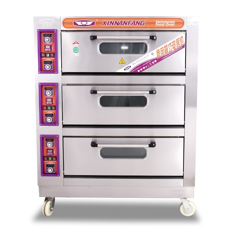 三層六盤電烤箱