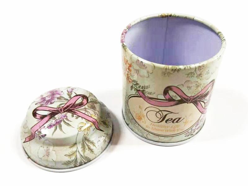 圆形茶叶罐