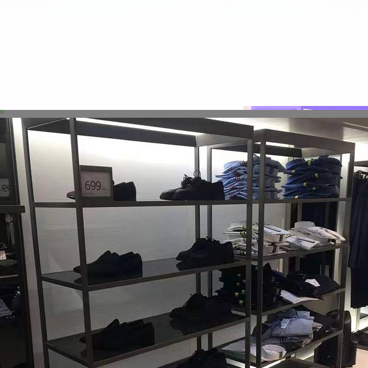恩平时尚鞋包架规格_天一地九金属制品_铁艺_服装店_品牌店