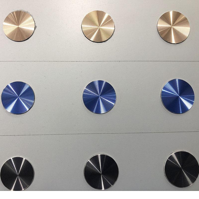 金属铝CD纹供应_铁创五金_手机支架_蓝牙音响_冲压_激光