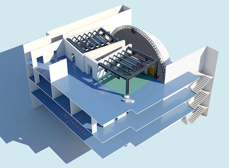 圆顶式影院方案设计_奥德瑞特光电_系统化_鱼眼式_特色_多语言