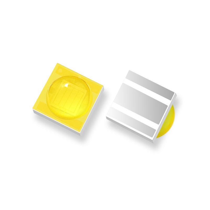 統佳光電_貼片1206凸形全彩led燈珠訂做_黃光_貼片快閃