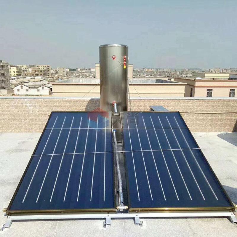 承壓平板太陽能熱水器