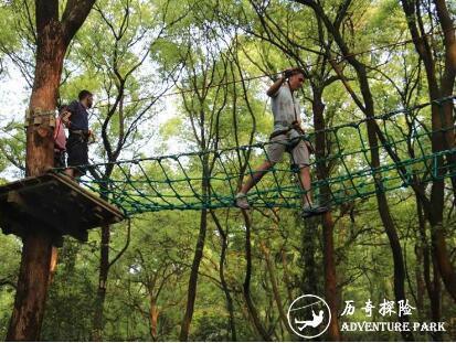 丛林飞越树上探险乐园