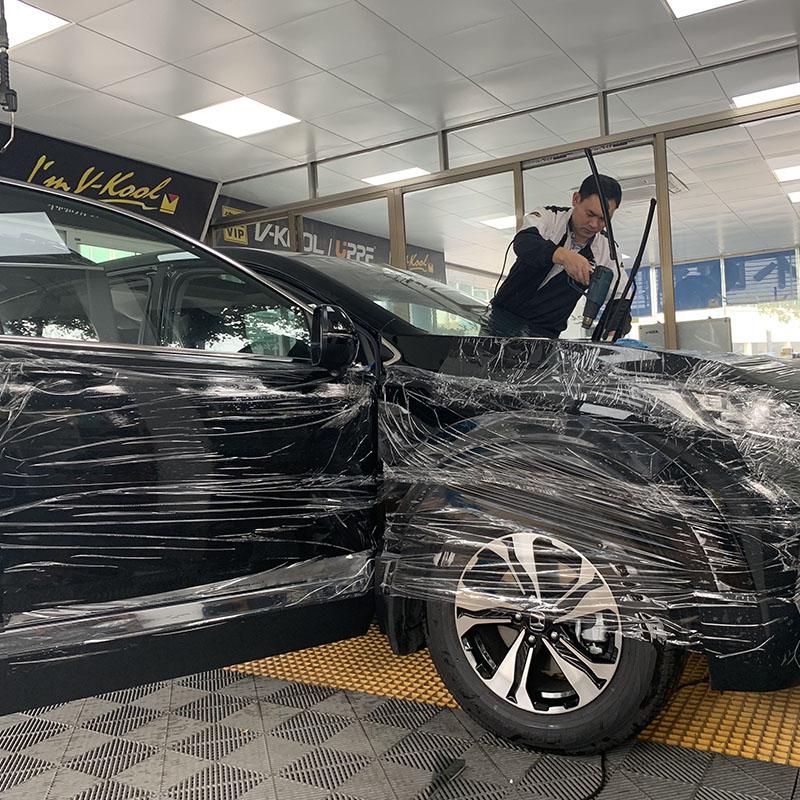 靓车_石排保姆车汽车贴膜服务_德宝汽车