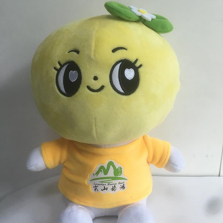 旺成動漫_ABS_兒童玩具毛絨橙哚公仔生產廠家