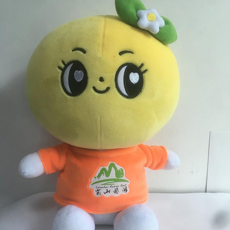 旺成动漫_礼品卡通_玩具毛绒橙哚公仔生产厂家