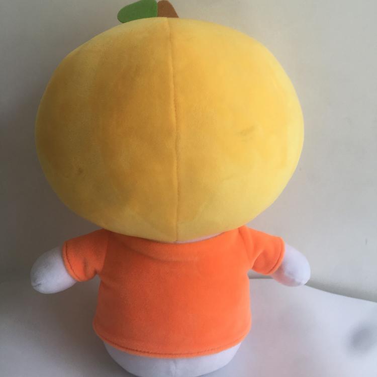 蕪湖毛絨公仔制造商_旺成動漫_兒童玩具_橙子_吉祥物_卡通動漫