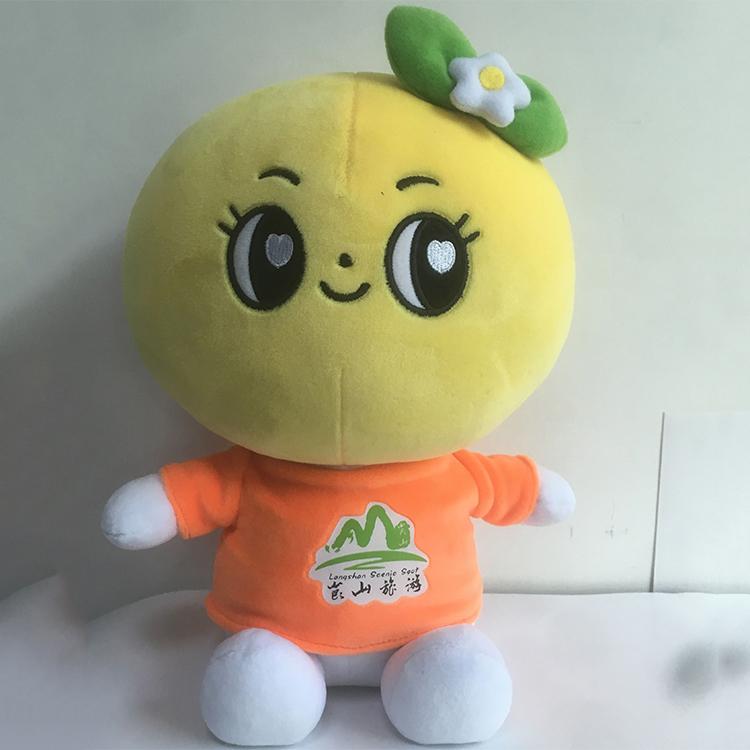 廣州毛絨公仔廠商_旺成動漫_PVC_橙子_玩具_高檔_吉祥物