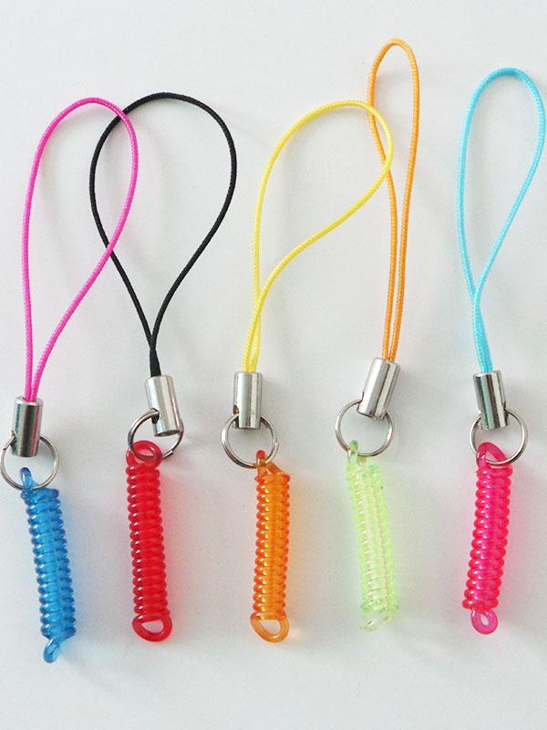 弹簧手机绳
