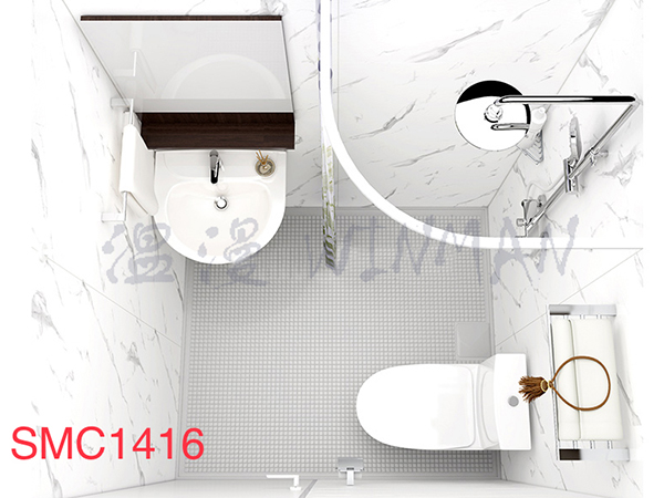整體衛生間SMC1416