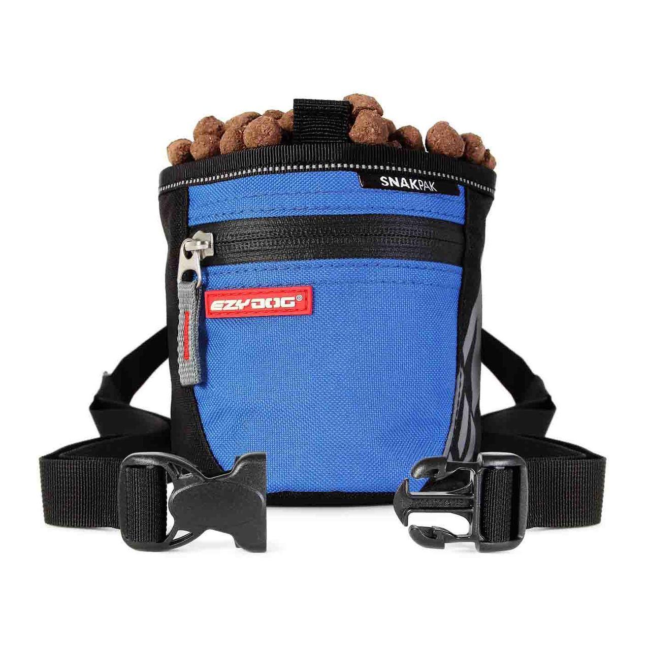 蓝色宠物训练用狗粮袋