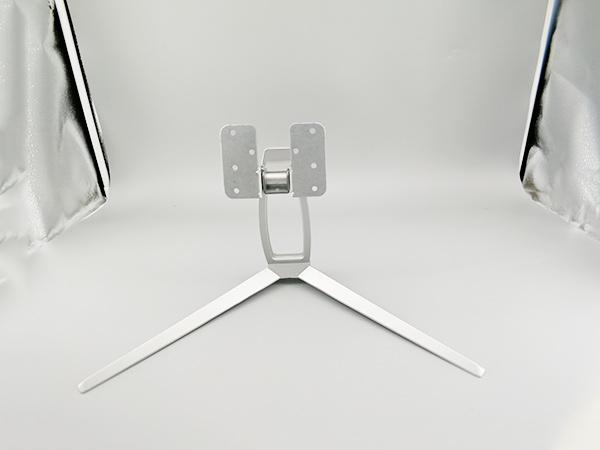 银色显示器底座制造