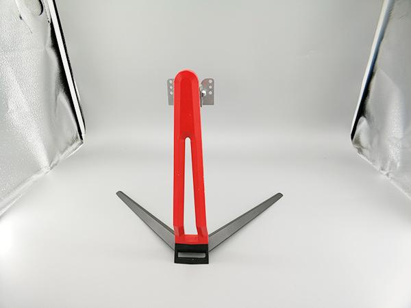红色显示器底座研发