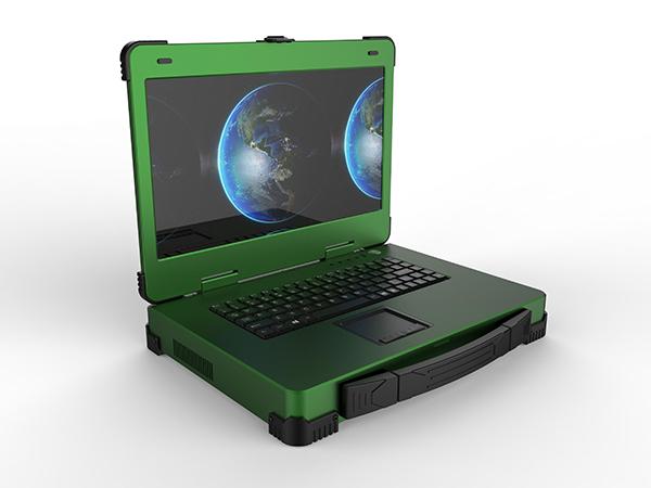 军绿色加固便携机研发生产