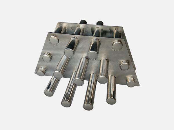 注塑機除鐵磁力架
