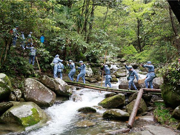 井冈山徒步行军