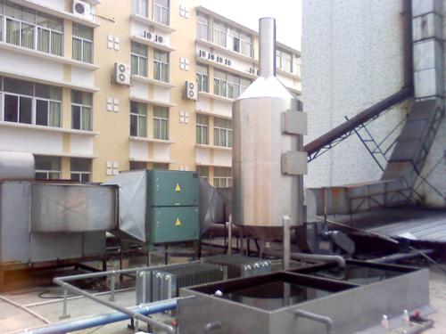 中山光解廢氣處理處理后效果 興森環保