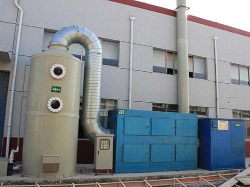 中堂廢氣凈化塔廢氣處理工序 興森環保