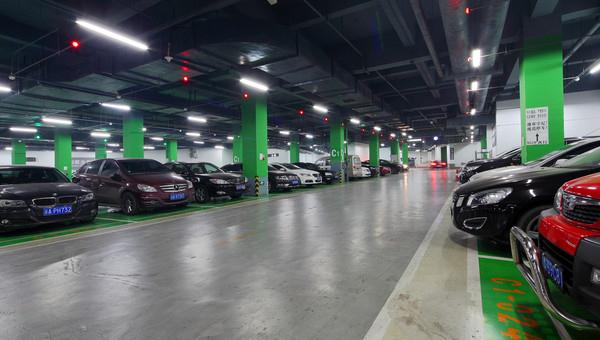 停车场室内监控系统